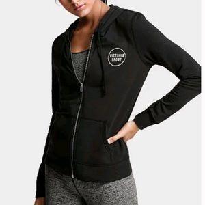 Victoria Sport black zip up hoodie